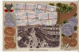 Cpa  Paris  Boulevard Montmartre - France