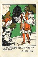 Machines à Coudre H. Vigneron Chez A. Morin Fils - Louis XIV, L'exactitude Est La Politesse Des Rois - Advertising