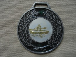 Ancienne Médaille Sportive Aviron Années 80 - Rowing
