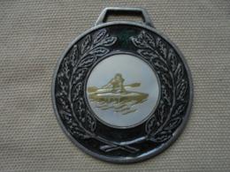 Ancien - Médaille Sportive Aviron Années 80 - Remo