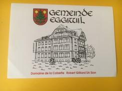 2757 -  Suisse Valais Doamine De La Cotzette Pour Gemeinde (commune) Eggiwil - Sonstige