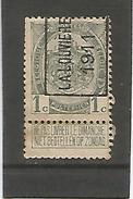 Préo 1627 A La Louviére 1911 - Precancels
