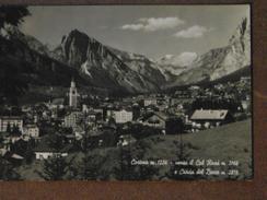 CORTINA -PANORAMA -1962  --     BELLA - Italia
