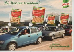 Car Auto Advertisement Traffic Jam Knorr Recipe Post Card Postkarte Karte Carte Postale 5736 POSTCARD - Turismo