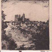 Alter Druck Laon - 8,5*8,5cm - 1915 (26058) - Laon