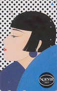 Télécarte Japon / 110-155659 - Cosmétiques NOEVIR / Femme Girl - Japan Cosmetics Cosmetic Phonecard Parfum Perfume - 198 - Perfume