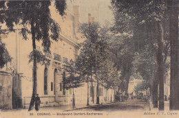 Bf - Cpa Toilée COGNAC - Boulevard Denfert Rochereau - Cognac