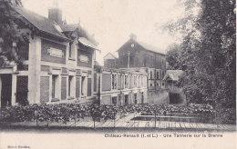 Bf - Cpa Château Renault - Une Tannerie Sur La Brenne - France