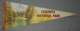 LARGE - Vintage Fanion Pennant- IMPKO - YOSEMITE NATIONAL PARK - Obj. 'Souvenir De'