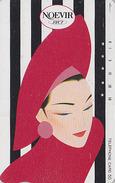 Télécarte Japon / 110-76888 - Cosmétiques NOEVIR / Femme Girl - Japan Cosmetics Cosmetic Phonecard Parfum Perfume - 202 - Parfum