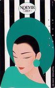 Télécarte Japon / 110-81715 - Cosmétiques NOEVIR / Femme Girl - Japan Cosmetics Cosmetic Phonecard Parfum Perfume - 203 - Perfume