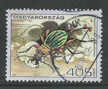 Hongarije, Yv 4597 Jaar 2014, Hoge Waarde,  Gestempeld, Zie Scan - Oblitérés