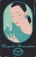 Télécarte Japon / 110-141629 - Cosmétiques NOEVIR / Femme Girl - Japan Cosmetics Cosmetic Phonecard Parfum Perfume - 204 - Perfume