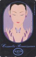 Télécarte Japon / 110-141630 - Cosmétiques NOEVIR / Femme Girl - Japan Cosmetics Cosmetic Phonecard Parfum Perfume - 206 - Parfum