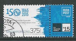 Hongarije, Yv 4625 Jaar 2015,  Hoge Waarde,  Gestempeld, Zie Scan - Oblitérés