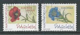 Hongarije, Yv  Jaar 2015, Europa Cept,   Gestempeld, Zie Scan - Oblitérés