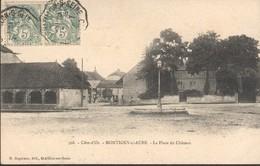 Ambulant Chatillon S Seine à Chaumont Oblitérant Les Timbres Et Répété Au Dos - Marcophilie (Lettres)