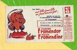 BUVARD & Blotting Paper : Farine FROMENDOR 10 Eme Commandement  La Fille - Sucreries & Gâteaux