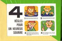 BUVARD & Blotting Paper : Soins Dentaires 4 Regles Pour Un Heureux Sourire - Kids