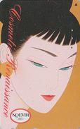 Télécarte Japon / 110-189105 - Cosmétiques NOEVIR / Femme Girl - Japan Cosmetics Cosmetic Phonecard Parfum Perfume - 210 - Parfum