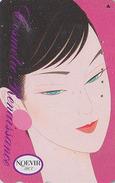 Télécarte Japon / 110-189106 - Cosmétiques NOEVIR / Femme Girl - Japan Cosmetics Cosmetic Phonecard Parfum Perfume - 210 - Parfum