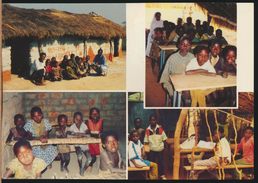 °°° 218 - REPUBBLICA CENTROAFRICANA - ECOLES DE VILLAGE °°° - Repubblica Centroafricana