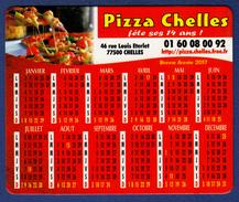 MAGNET Publicitaire : Pizza Chelles, Calendrier 2017 - Advertising
