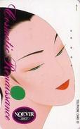 Télécarte Japon / 110-106815 - Cosmétiques NOEVIR / Femme Girl - Japan Cosmetics Cosmetic Phonecard Parfum Perfume - 213 - Parfum