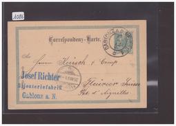 AUTRICHE - GANZSACHE - CARTE ENTIER POSTAL - Stamped Stationery