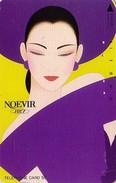 Télécarte Japon / 110-51557 - Cosmétiques NOEVIR / Femme Chapeau - Girl Japan Cosmetics Phonecard Parfum Perfume - 224 - Perfume