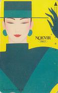 Télécarte Japon / 110-57216 - Cosmétiques NOEVIR / Femme Chapeau - Girl Japan Cosmetics Phonecard Parfum Perfume - 225 - Parfum