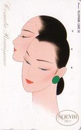 Télécarte Japon / 110-125267 - Cosmétiques NOEVIR / Femme - Girl Japan Cosmetics Phonecard Parfum Perfume - 230 - Parfum