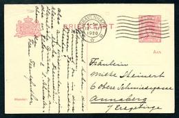 6868 - Alte Postkarte - Ganzsache - Gel 1920 Gravenhage Nach Annaberg - Postal Stationery