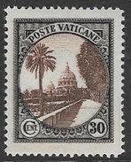 Vatican SG24 1933 Definitive 30c Mounted Mint [31/28118/7D] - Vatican