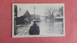 Vermont Waterbury Flood On Main Street  1927      ===ref 2432 - United States