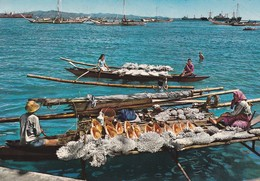 PHILIPPINES--muslin Peddlers Display Their Wares Of....---voir 2 Scans - Philippines