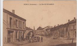 SEMUY LA RUE SAINT LAMBERT CAFE EPICERIE 1939 - France