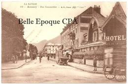 74 - ANNECY - Rue Sommeiller +++++ La Savoie / BF, Paris, #115 ++++++ RARE - Annecy
