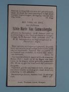 DP Silvie-Marie Van CAUWENBERGHE ( ) Oostakker 27 Jan 1877 - Langerbrugge 10 Jan 1949 ( Zie Foto´s ) !