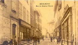 Tarn - Réalmont - Rue Général Ferret - Realmont