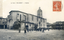 Tarn - Réalmont - L'eglise - Realmont