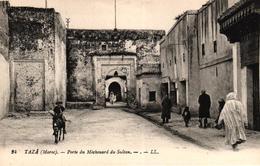 MAROC - TAZA - PORTE DU MECHOUARD DU SULTAN - Marruecos