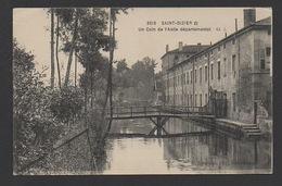 DF / 52 HAUTE MARNE / SAINT DIZIER / UN COIN DE L'ASILE DÉPARTEMENTAL / CIRCULÉE EN 1917 - Saint Dizier