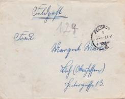 Feldpost WW2: From Brest In France -  Veterinär-Kompanie 251 FP 33361 P/m 7.4.1941 - Cover Only  (G76-118) - Militares
