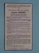 DP Eugène VERBIST ( De WALS ) Sterrebeek 9 Jan 1912 - Tervuren 11 Mei 1948 ( Zie Foto´s ) !