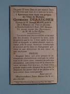DP Germaine DESAEGHER ( MONCAREY ) Beveren Sur Yser - Hondschoote 8 Aout 1941 Dans Sa 51e Année ( Zie Foto´s ) !