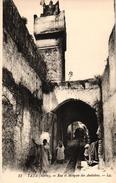 MAROC - TAZA - RUE ET MOSQUEE DES ANDALOUS - Maroc