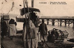 MAROC - TANGER - UNE GRUE DES DOCKS - Tanger