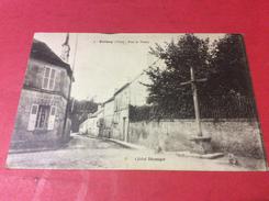 ORROUY. Rue DE. Visery.  EDiteur Beranger 12/12/16 - France