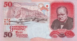 GIBRALTAR P. 34a 50 P 2006 UNC - Gibilterra